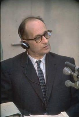 Adolf Eichmann al processo 1961