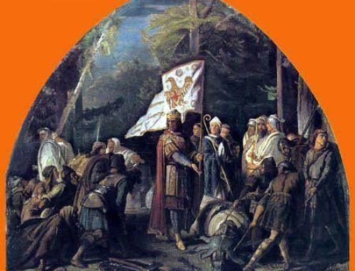 Externsteine: Carlo Magno e Irminsul