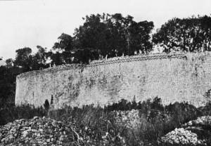 Muo di cinta delle rovine di Grande Zimbabwe