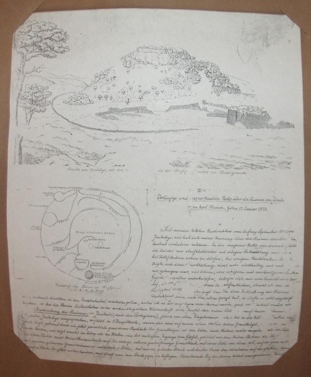 Karl Mauch rovine di Grande Zimbabwe