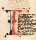 "Manoscritto di ""Parzival"" ca. del 1443-1446. http://digi.ub.uni-heidelberg.de/diglit/cpg339i"