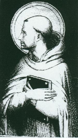 Bernard de Clairvaux, il padre spirituale dell'Ordine del Tempio.