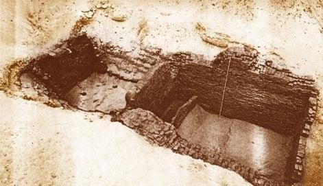 tomba di Narmer ABYDOS B17-18