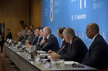 Conferenza stampa della WTO, 2011.
