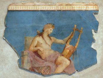 Divinità principale degli Iperborei: Apollo citaredo.