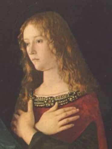 Maria Maddalena di Giovanni Bellini. 1490