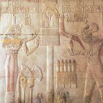 Reliquiario con la testa di Osiride. Tempio di Sethos I, Abydos. Foto Sabina Marineo