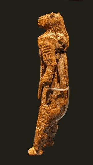 uomo-leone-caverna-hohlenstein-stadel-ulm-profilo