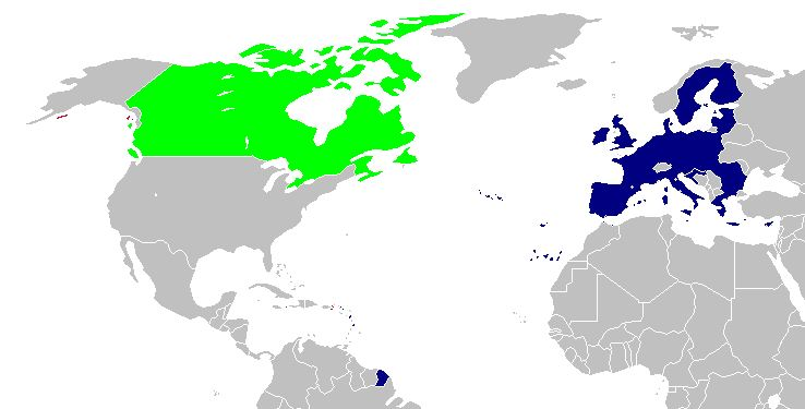 I Signori della globalizzazione e i loro mostri: CETA. Canada e Unione Europea, partner del CETA.