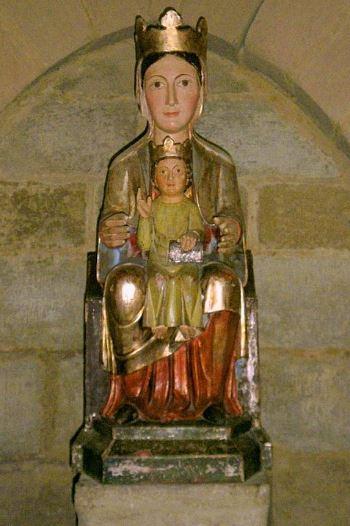 Madonna Nera di Eunate. Foto: Zarateman, CC-BY-3.0