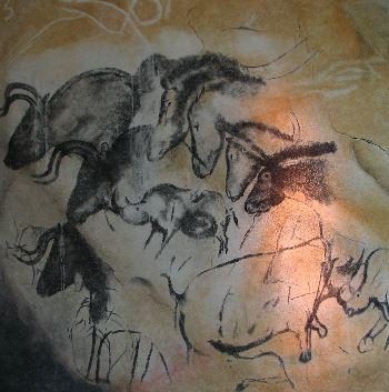Grotta di Chauvet. Uno degli esempi più belli dell'arte del Paleolitico.