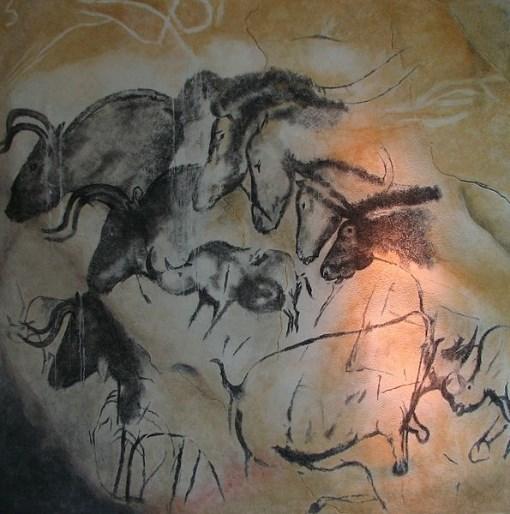 Replica Grotta di Chauvet museo di Brno.-Dominio pubblico