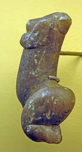 Venere di Sireuil, Francia - Originale, Musée d'Archeologie Nationale et Domaine, St-Germain-en-Laye Foto: Don Hitchcock
