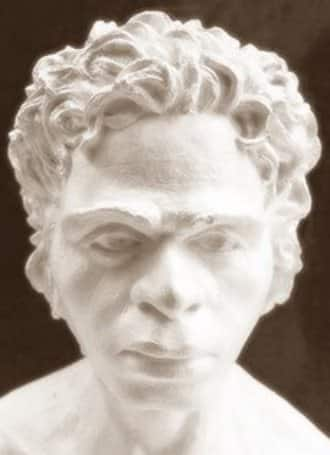 Il DNA dei primi Europei. Uomo di Kostenki. Ricostruzione del professor Gerasimov.