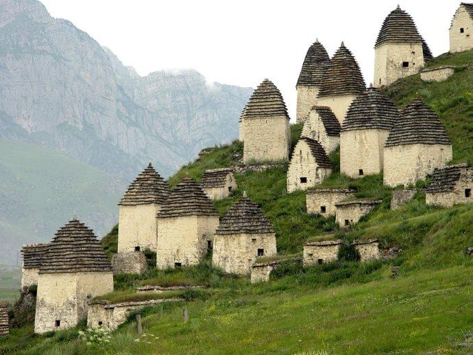 Necropoli dell'Ossezia settentrionale.