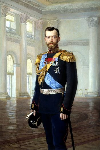 Lo zar Nicola II.