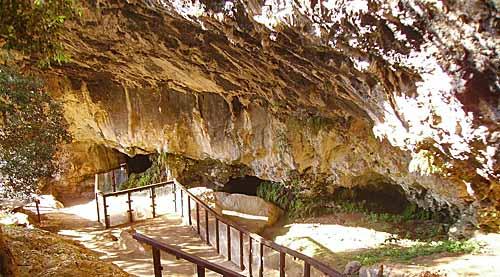 Grotta del Romito. Dominio pubblico.