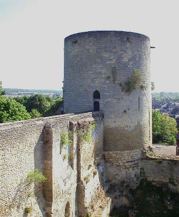 Torrione della fortezza di Gisors. Foto: CJ-DUB