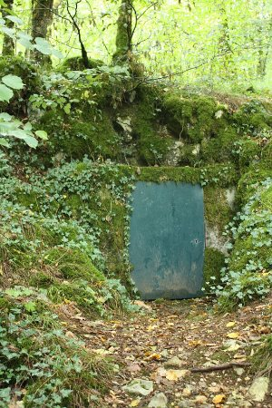 Grotte de Villars, entrata vecchia. Foto: Mj.galais CC-BY-SA-3.0