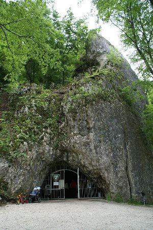 La grotta di Hohle Fels. Foto: Dr. Eugen Lehle CC-SA-3.0