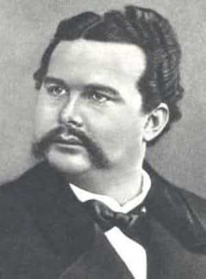 Ritratto di Ludwig II negli anni della maturità. Dominio pubblico