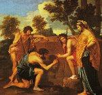 Pastori d'Arcadia di Nicolas Puossin. Dominio pubblico
