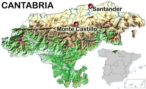 Grotta di Las Monedas, Monte Castillo. Fonte: Locutus-Borg CC-BY-SA-3.0Fonte: Locutus-Borg CC-BY-SA-3.0