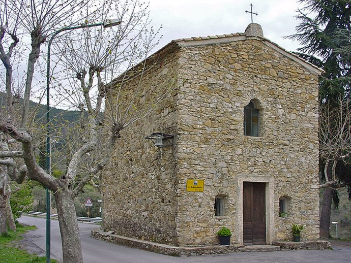 Seborga, cappella San Bernardo. Foto: Sabina Marineo