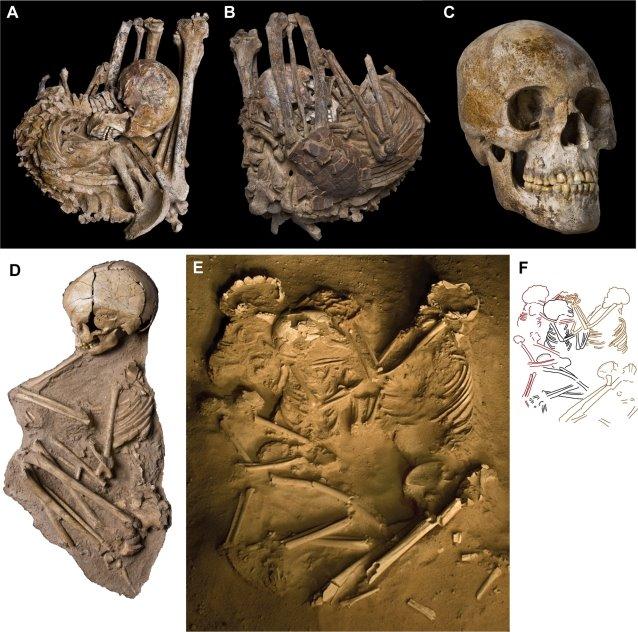 Gobero e le tombe dei giganti. Olocene medio. Sepolture e cranio della necropoli più recente. http://www.ncbi.nlm.nih.gov/pmc/articles/PMC2515196/