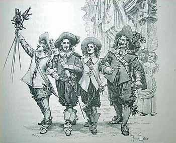 Illustration de l'ouvrage d'Alexandre Dumas1894-free