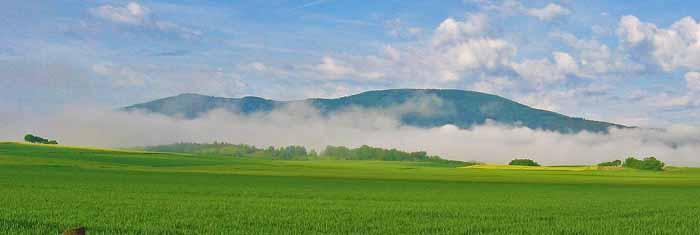 Massiccio montuoso Hoher Meissner a sud-est di Kassel. La montagna di Frau Holle. Foto: Johannesjung CC0