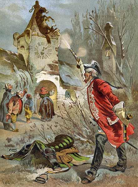 600-Gottfried_Franz_-_Munchhausen_shooting_the_horse-free