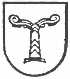 Emblema dell'Ahnenerbe, organizzazione delle SS fondata da Heinrich Himmler per la ricerca storica e archeologica. Irminsul.