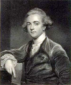 Sir William Jones che scoprì l'affinità delle lingue indoeuropee e l'esistenza di una lingua madre comune - dominio pubblico