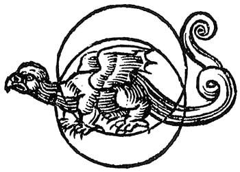 Raffigurazione di Urobouros dall'opera