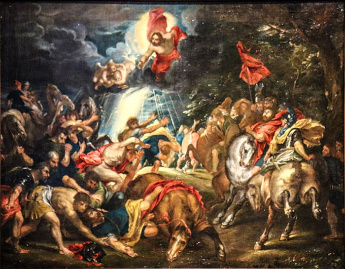 La conversione di Paolo a Damasco, Pieter Paul Rubens, 1577 - 1640