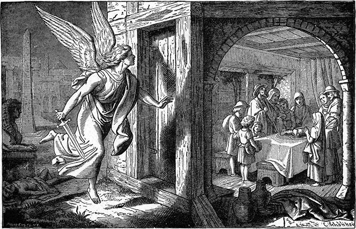 Pasqua ebraica. L'angelo della morte nella notte del Pesach