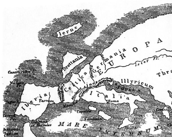 L'Europa vista da Strabone, 63 a. C. - 23 d.C.