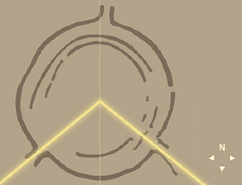 Il Cerchio di Goseck, osservatorio solare