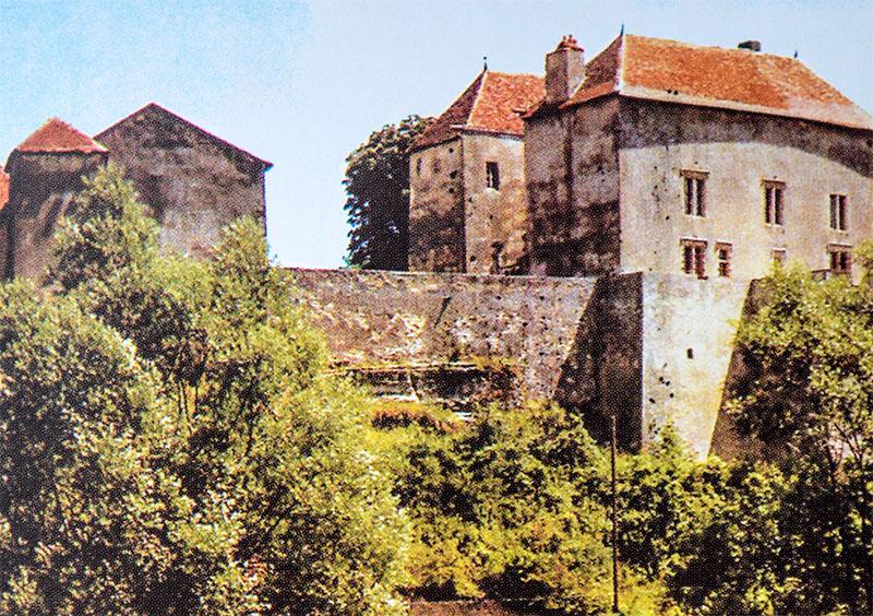 Castelle di Jaulny, in cui visse Jeanne des Armoises con il marito Robert.