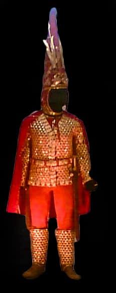 """""""L'uomo d'oro"""" di Issyk, Museo di Almaty. Foto: Ralf Roletschek CC NC ND 3.0"""