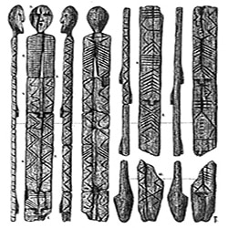 L'Idolo di Shigir dalle sette facce