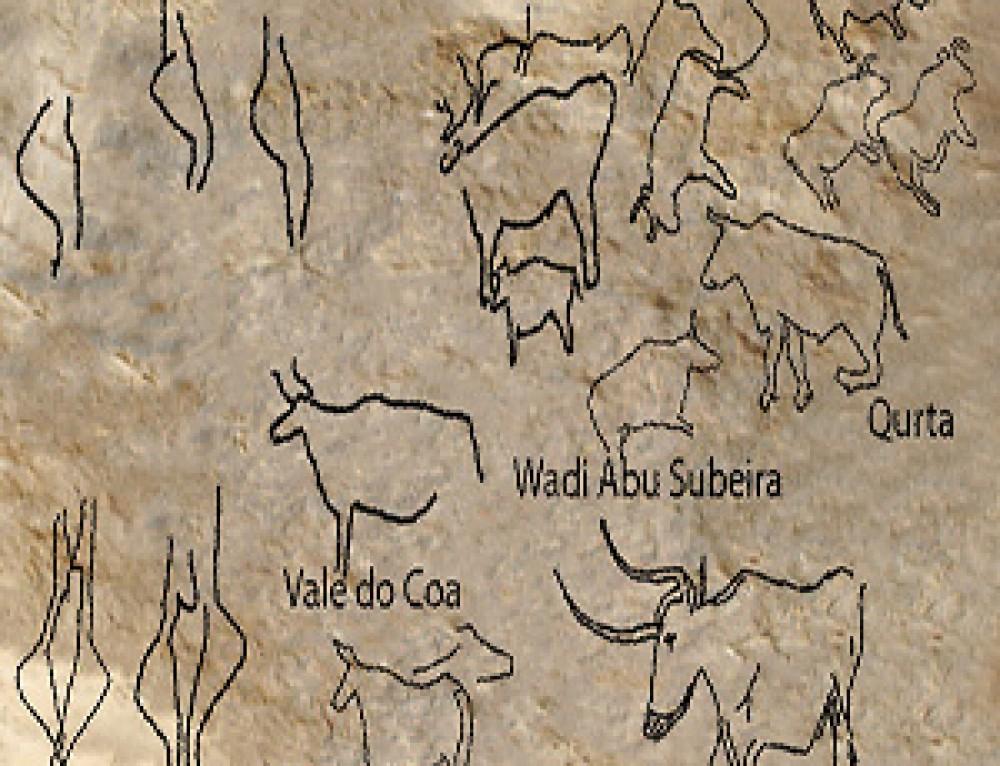 Le incisioni paleolitiche di Qurta nell'Alto Egitto