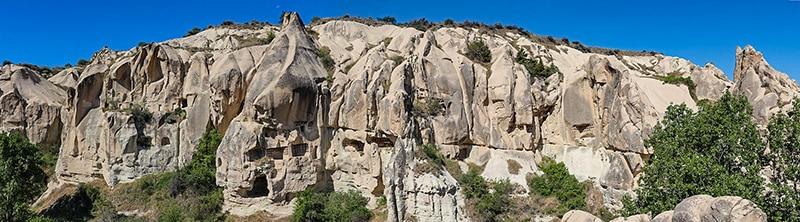 Le incredibili abitazioni rupestri della Cappadocia. Göreme, Open Air Museum. Foto: Bernard Cagno
