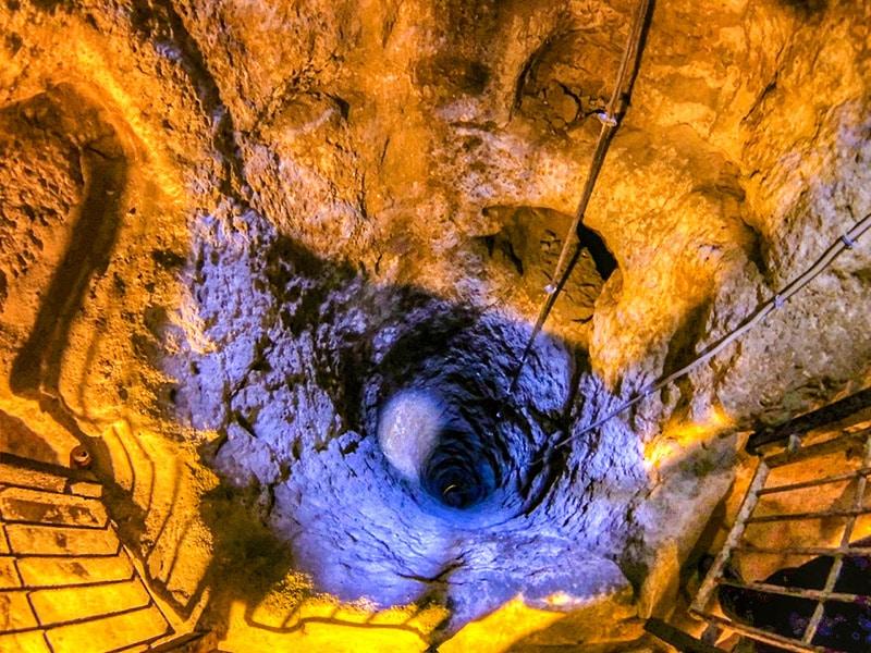 Derinkuyu. Ingegnoso sistema di areazione sotterranea. Foto: Nevit Dilmen CC BY SA 3.0