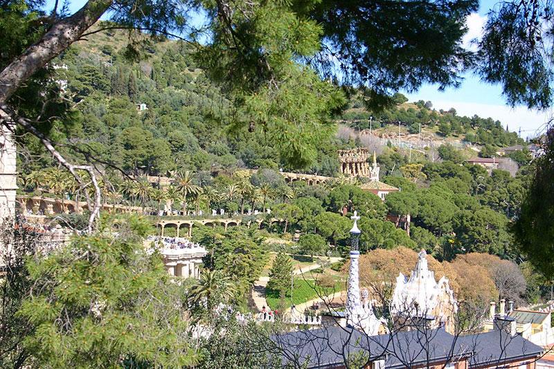 Parco Güell, Barcellona. Nella lista dell'UNESCO. Foto: Year-of-the-dragon CC BY SA 3.0