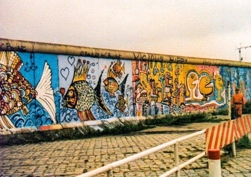 Muro di Berlino. Foto: KarleHom CC BY SA 3.0
