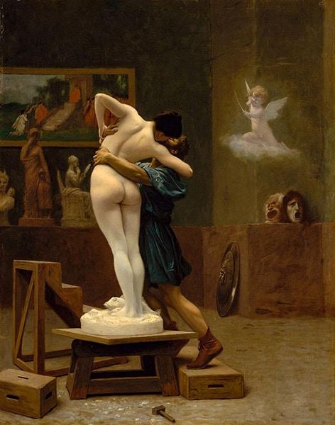 Pigmalione di Jean-Lèon Gérôme, 1890
