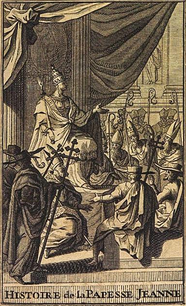 Histoire de la papesse Jeanne, Monsieur de Spanheim, 1695