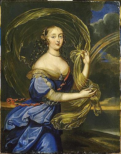 Madame de Montespan, la stella della corte di Versailles nota per lo spirito brillante e la prorompente bellezza.